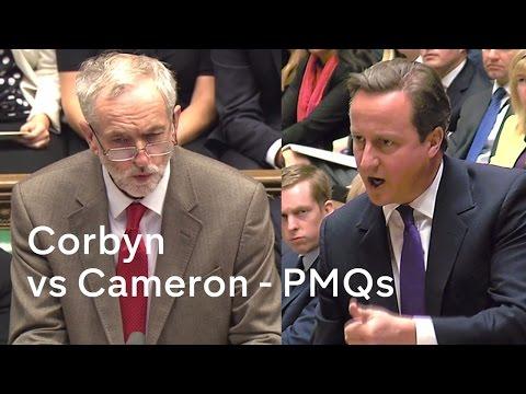 Jeremy Corbyn vs David Cameron - PMQs - 14 Oct 2015