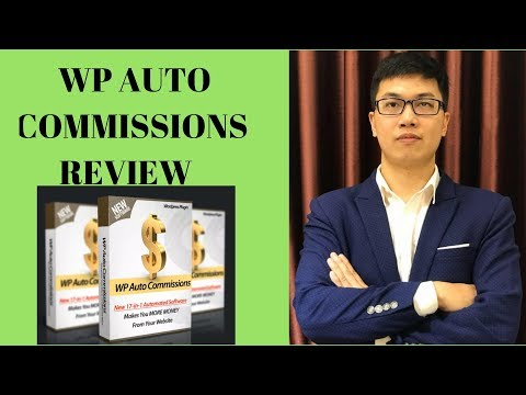 WP Auto Commissions Review From A Real User With Special Bonuses. http://bit.ly/2Zu27Ph