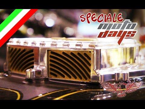 Speciale Motodays 2016 con Custom Creations - Roma Custom Bike
