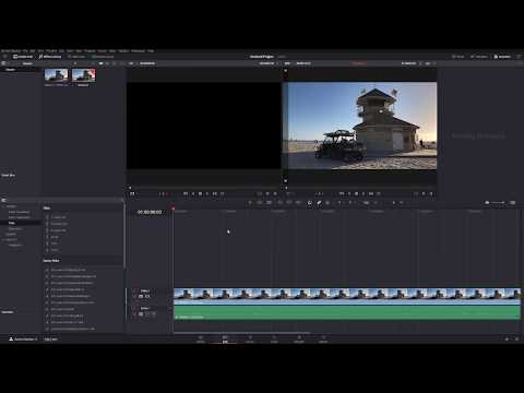 How to Import Video Files into DaVinci Resolve 12 5