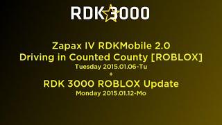 [ROBLOX] RDKMobile 2.0 Driving in CC 2015.01.06-Tu + Update 2015.01.12-Mo