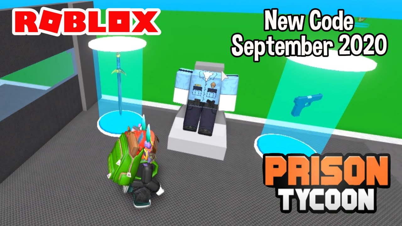 Code Prison Tycoon Roblox Roblox Freeze Ray Prison Tycoon New Code September 2020 Youtube