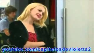 violetta 2 : Lena Defiende A Naty Y Canta (Caps 51-52)
