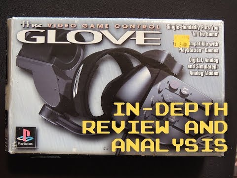 THE VIDEO GAME CONTROL GLOVE - in-depth review and analysis