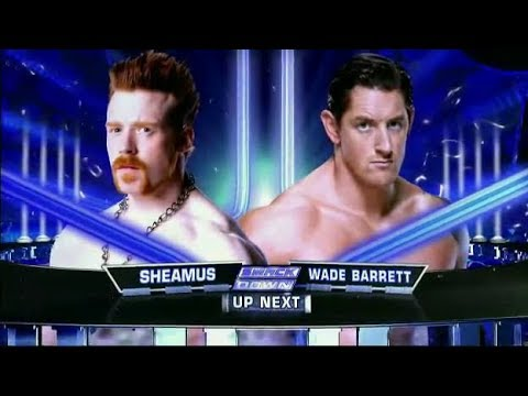 WADE BARRETT VS SHEAMUS LAST MAN STANDING INTER TITLE