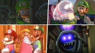 Evolution of Luigi's Mansion Intros (2001 - 2019) - All Introductions