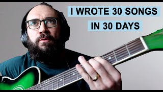 I Destroyed my Perfectionism by Writing a Song Every Day for a Month