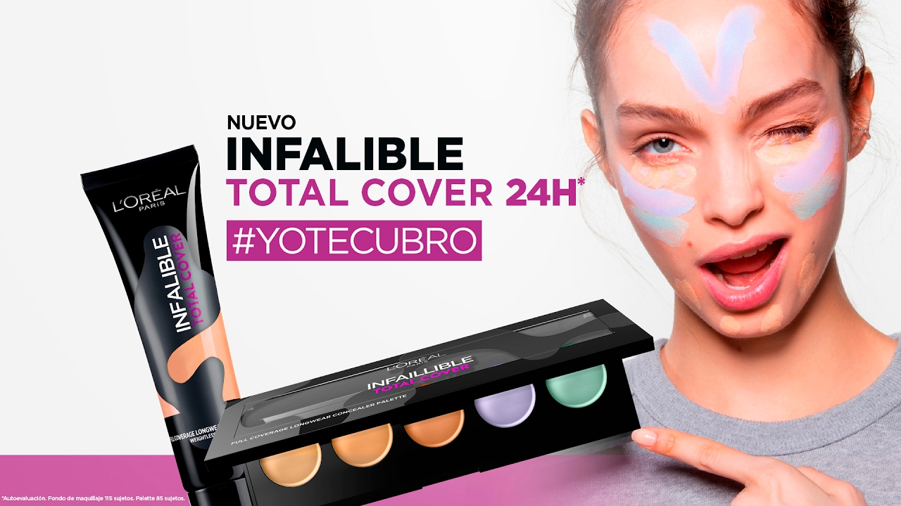 maquillaje cover loreal