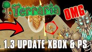 Terraria 1.3 XBOX ONE & PS4 - RELEASE DATE Q2 2017 (April-June) (Terraria 1.3 PC Gameplay)