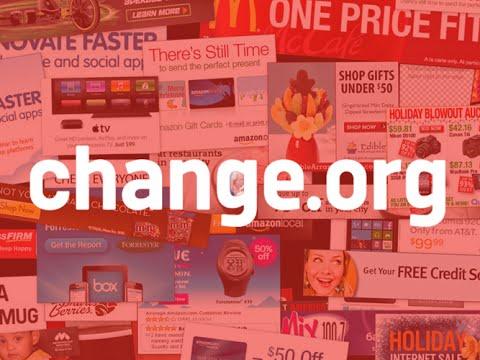 Change.org vende le mail degli utenti che firmano petizioni