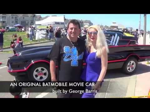 An Original Batmobile built by George Barris