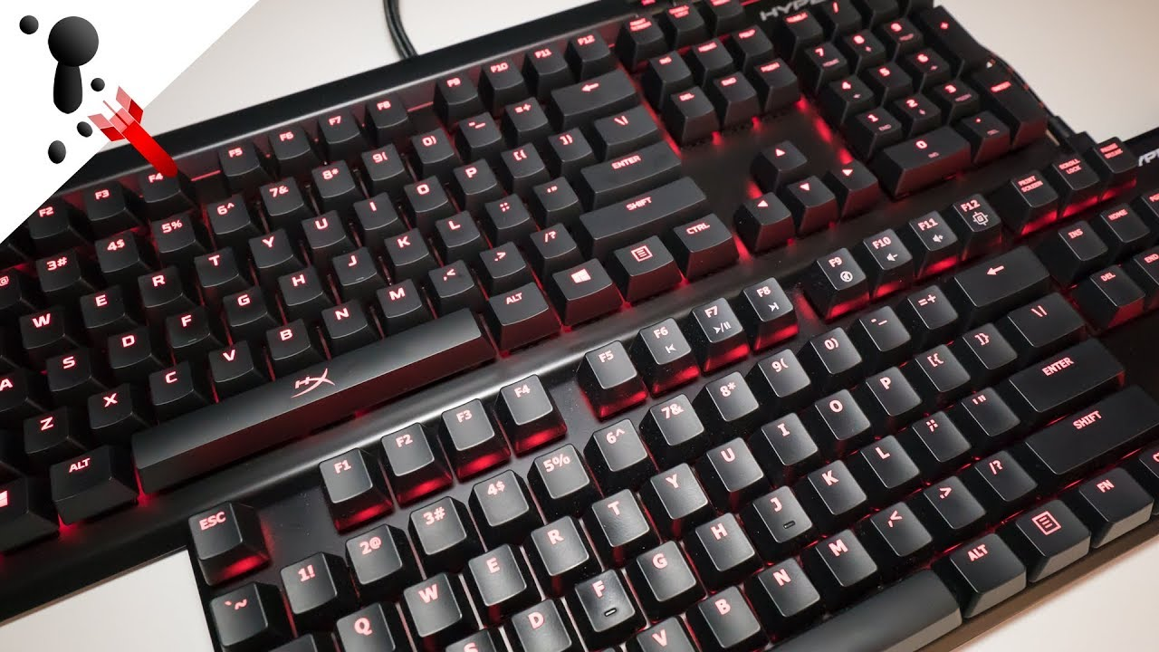 34babaf9002 HyperX Alloy Elite VS Alloy FPS Keyboard Review with sound test ...