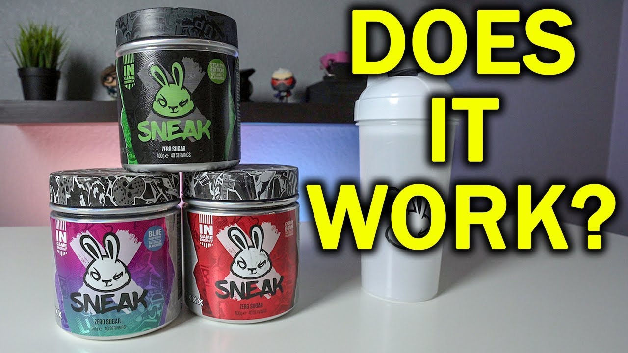 Download Can a Drink Make you Game Better? | SNEAK Gaming Energy Drink Review