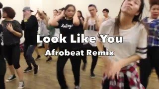 Look like you - Afrobeat remix |Choreography by Valeria Garcia|