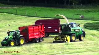 Fell Silage - John Deere action.