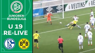 Schalke 04 - Borussia Dortmund 2-3 | Volle Länge | A-Junioren-Bundesliga