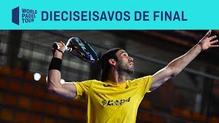 Resumen dieciseisavos de final (primer turno) Cupra Las Rozas Open
