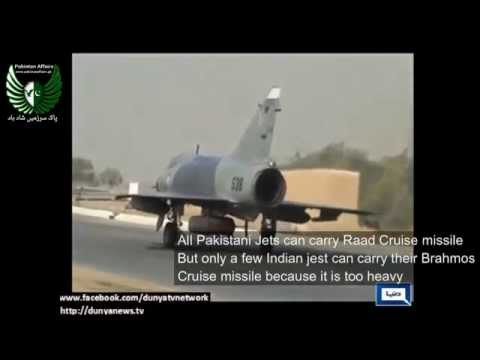 Pakistan's Raad missile in terrain hugging mode