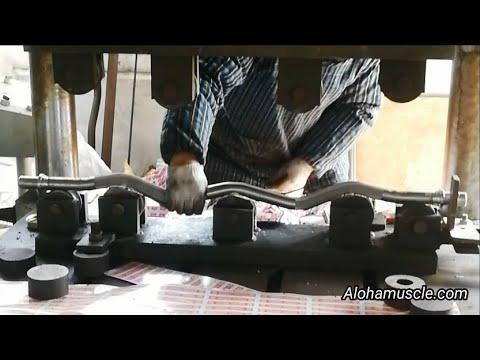 Barbell Bar Manufacturing Making Process From China Factory - Manta Fitness