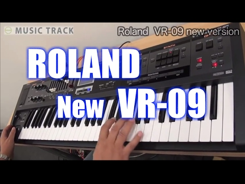 ROLAND VR-09 New Version Demo & Review [English Captions]
