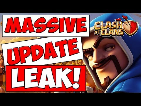 CLASH OF CLANS UPDATE LEAK!  COC UPDATE NEWS AND REACTION