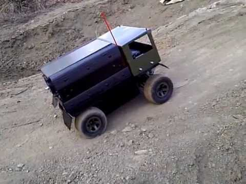 homemade rc truck youtube