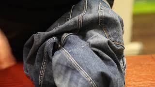 Как зашить дырку на джинсах чтобы ее не было видно инструкция.