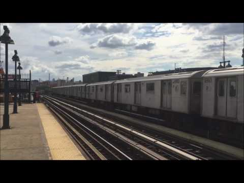 Manhattan Bound 4 Train Leaves 161-Street Yankee Stadium