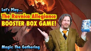 Let&#39s Play The Ravnica Allegiance Booster Box Game For Magic The Gathering!
