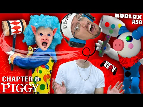 ROBLOX PIGGY CLOWN! Chapter 8: Lost My Head @ The Carnival (FGTEEV #58)
