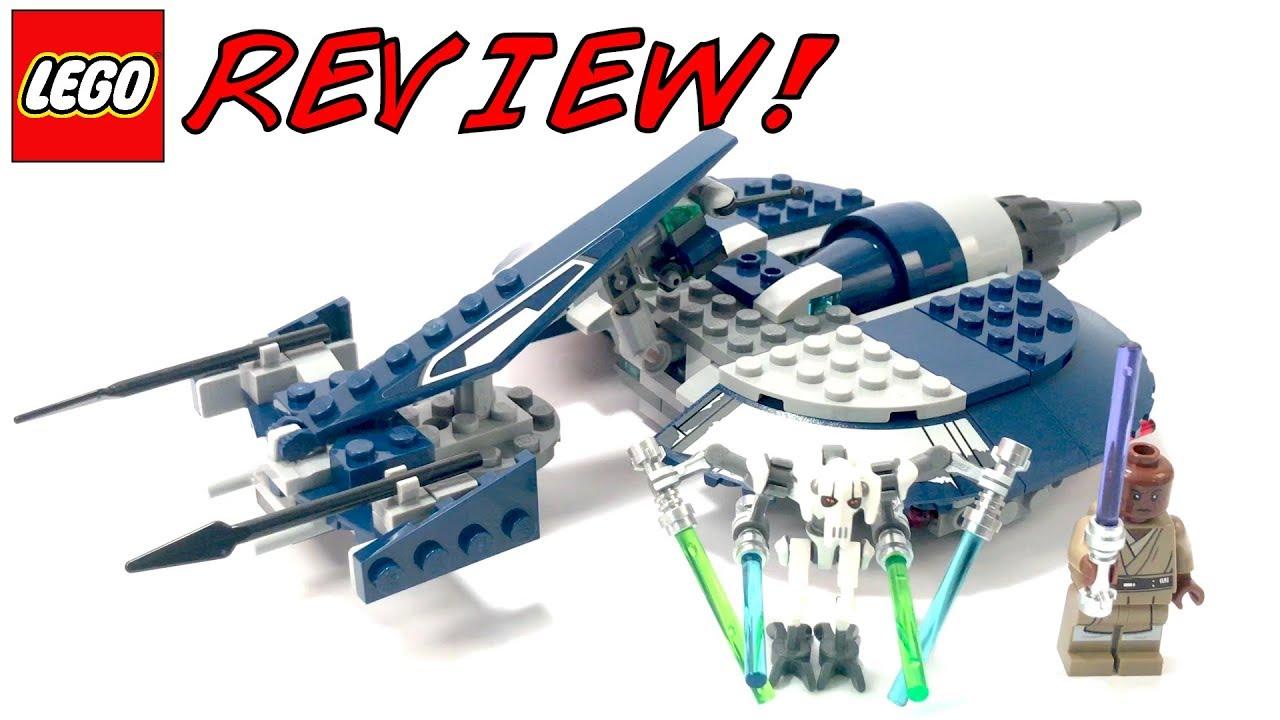 OVERPRICED! LEGO 75199 General Grievous' Combat Speeder ...
