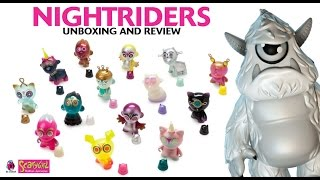 "Nathan Jurevicius x Kidrobot - ""Nightriders"" blind box mini series unboxing/review!"