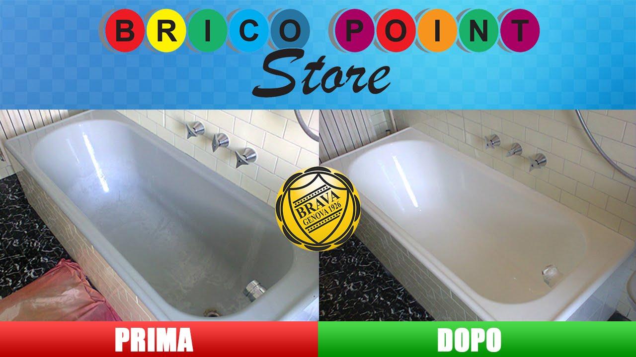 Fai da te come verniciare la vasca da bagno con smalto ceramico brava riverniciare senza - Come sostituire una vasca da bagno ...