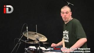 Jungle Drummer - Drum N Bass Drumming Lesson - Free Drum Lesson iDrum Magazine