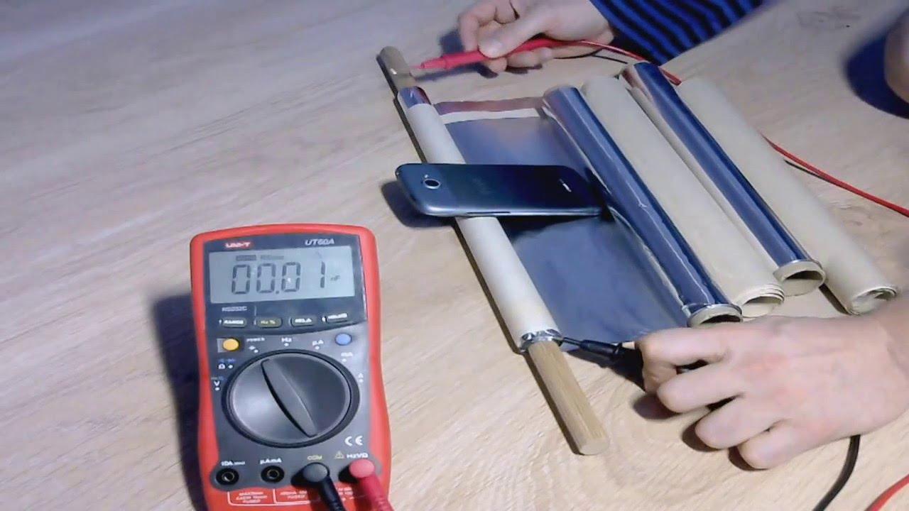 Переменные конденсаторы своими руками