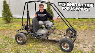 Picking up a FREE Go Kart! The Perfect Quick Restore Candidate!