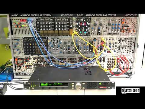 TEST SERIES Eventide Eclipse with Make Noise Mysteron Eurorack Sound Design