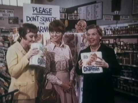 Charmin Commercial w/ Kathleen Freeman