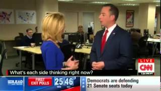 RNC Chairman Reince Priebus interview with Dana Bash from RNC HQ