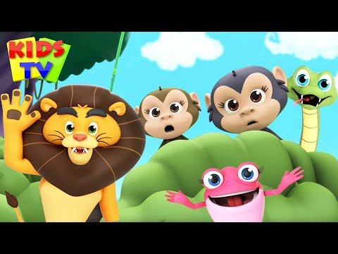 Walking In The Jungle | Super Supremes Cartoons | Children Songs & Videos For Kids