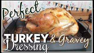 BEST EVER! | TURKEY, DRESSING, & GRAVY RECIPES | Cook With Me! | Country Girl