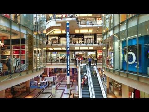 shopping center interior prague czech republic europe wj9zvvkvs  D