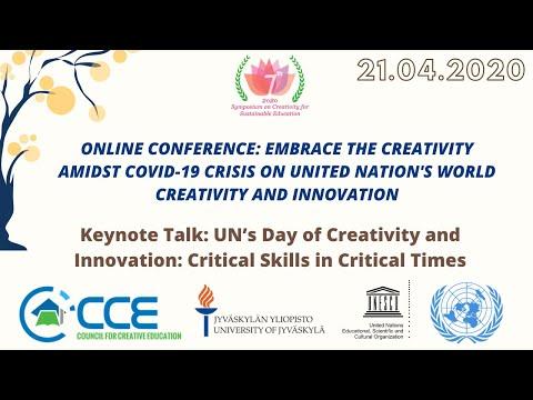 keynote-heikki-lyytinen:-un's-day-of-creativity-and-innovation:-critical-skills-in-critical-times