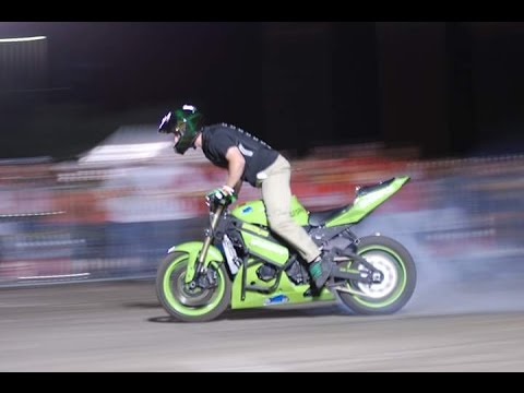 Amateur Motorcycle Stunt Show Full Video (2 Hours of Stunts And Crashes)