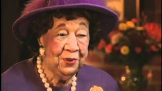 Dorothy Height Interviewed by Julian Bond: Explorations in Black Leadership Series