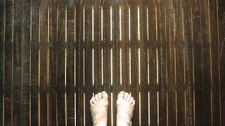 Предбанник тёплый пол / баня теплый пол самодельный/ warm floor in the bath house