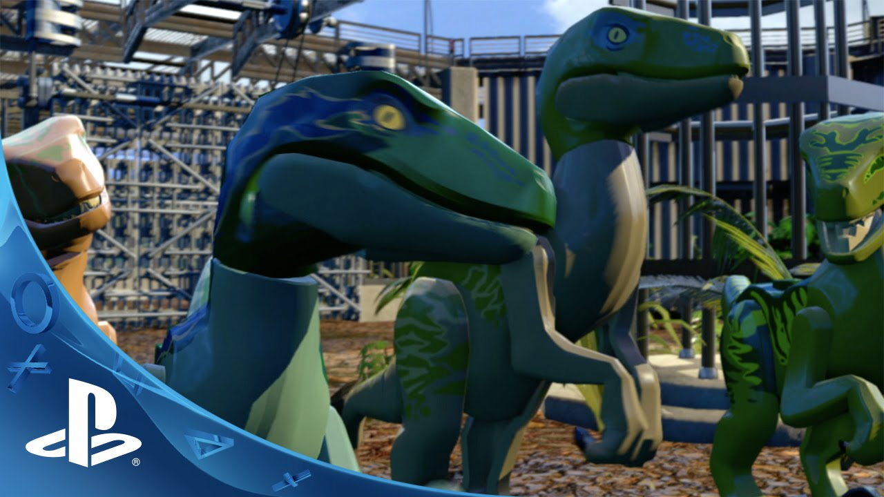 Lego Jurassic World Gameplay Trailer 2 Ps4 Ps3 Ps Vita Youtube