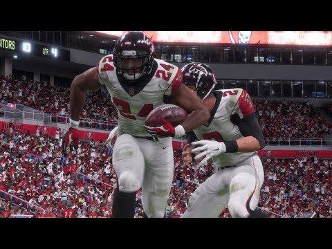 NFL Monday Night Football 12/18 - Atlanta Falcons vs Tampa Bay Buccaneers Full Game (NFL Madden 18)