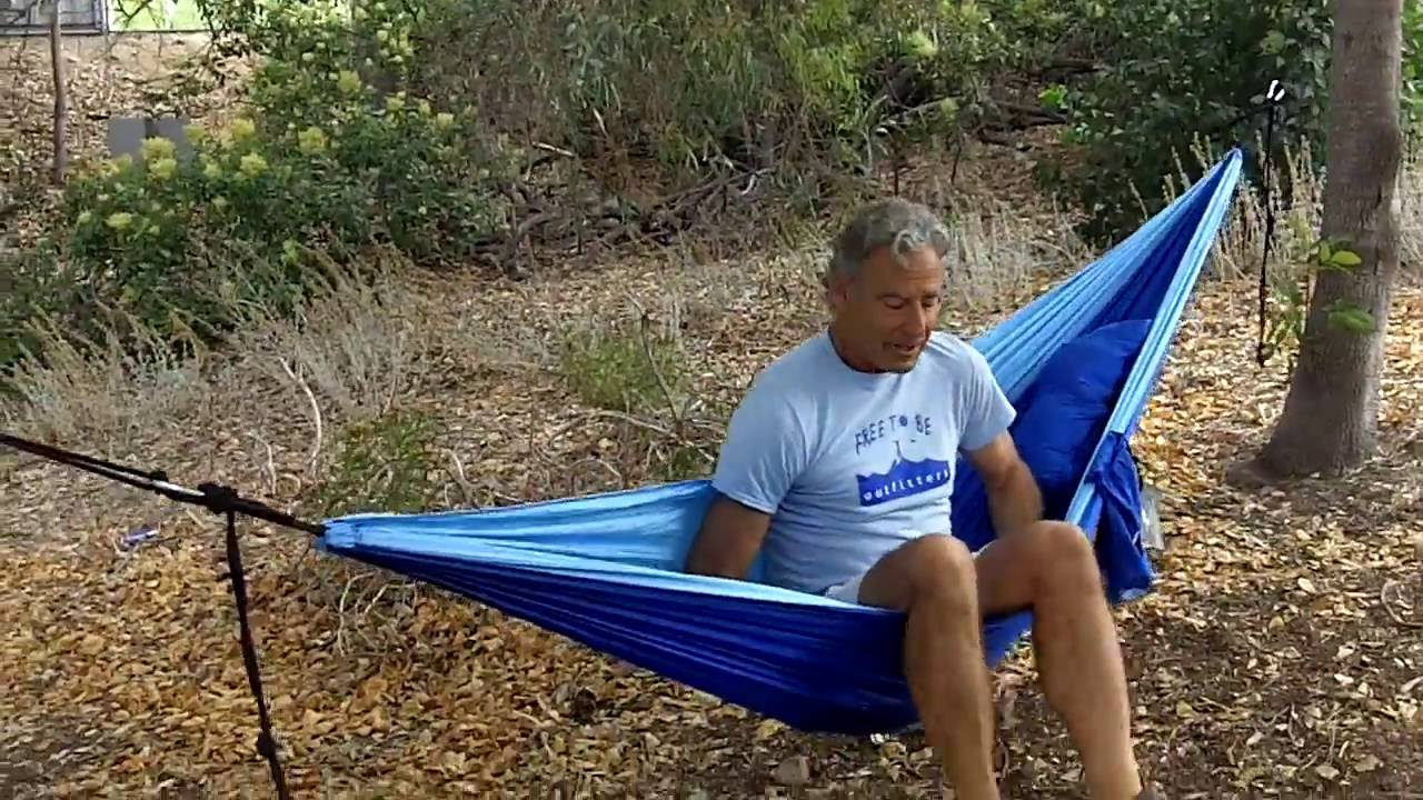 how to hang your camping hammock how to hang your camping hammock   youtube  rh   youtube