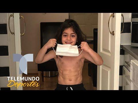 El duro entrenamiento en cuarentena de este niño que algunos cuestionan | Telemundo Deportes
